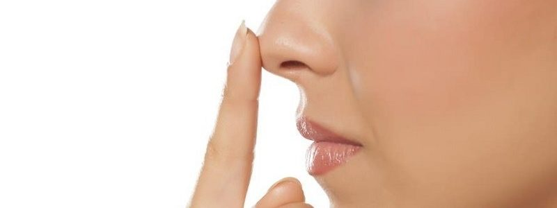 Minor surgery or rhinoplasty nose down