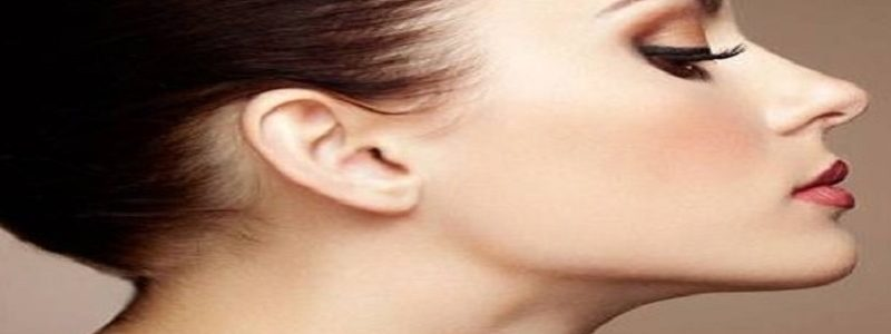 The skin on the nose Rhinoplasty