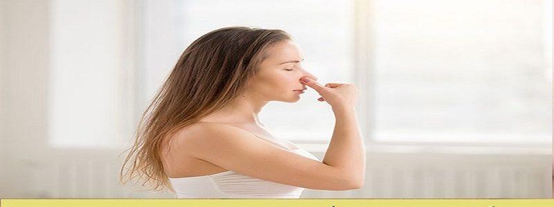 الأنف ومشاكل في التنفس بعد الجراحة.